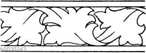 Blattbänder und Rankenbänder: Gotische Flachschnitzerei aus dem Ende des 15. Jahrhunderts (Musterornamente)