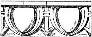 Renaissance-Eierstab nach Raguenet