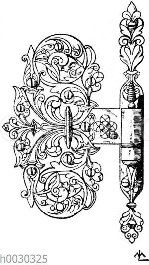 Türband. Deutsche Renaissance. 1580