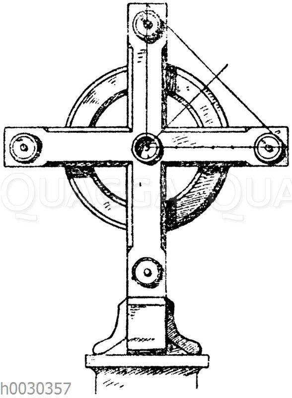Kreuz in Stein: Französisches Grabkreuz vom Père-Lachaise in Paris