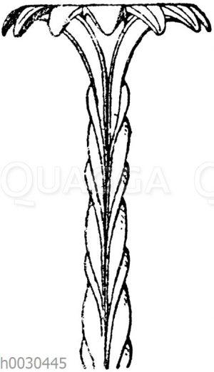 Oberteil eines graeko-italischen Kandelaberschaftes. Bröndtedsche Sammlung. (Vulliamy)