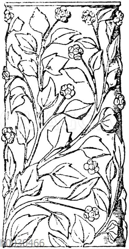 Partie eines römischen Säulenschaftes aus Marmor.