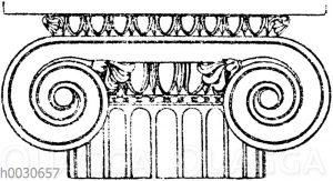 Griechisch-ionisches Normalkapitell. (Jacobsthal)