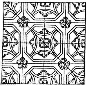Mittelalterliche Emaille-Motive. (Kölner Emaille)