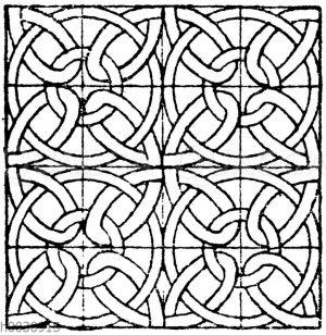 Glasmalereimuster (Teppiche) aus der romanischen und frühgotischen Zeit