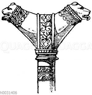 Romanischer Bischofstab (des Bischofs Gerard von Limoges