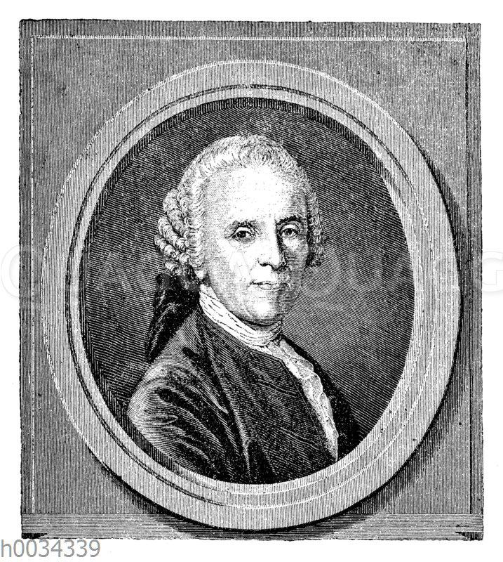Christian Fürchtegott Gellert (geb. 4. Juli 1715