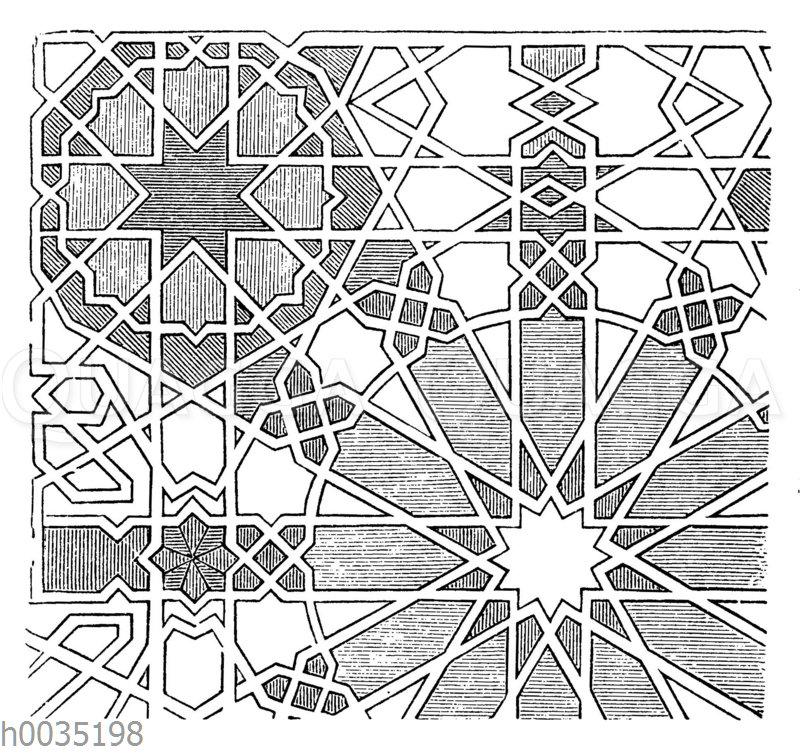 Ornament aus der Alhambra