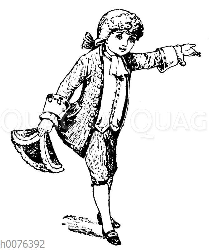 Vignette: Kleiner Kavalier