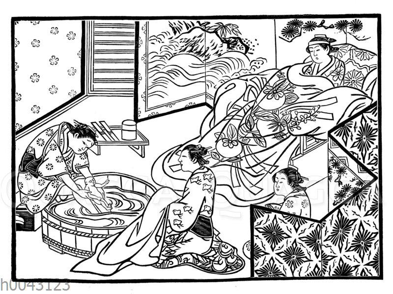 Japanische Wochenstube