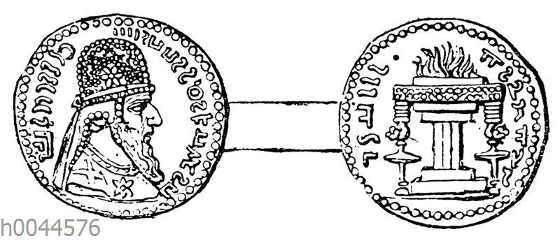 Münze des Artaxerxes