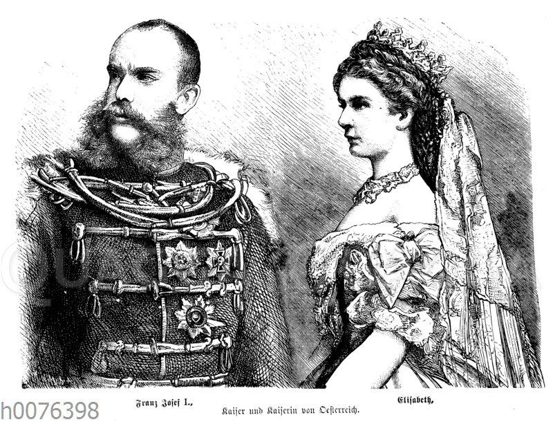 Franz Joseph I. und Elisabeth von Österreich-Ungarn (Sisi