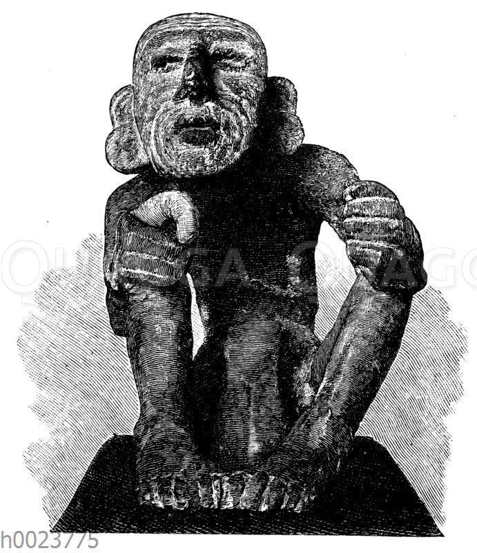 Altmexikanische Statue