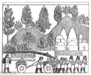 Relief vom Palast Sanheribs in Kujundschik