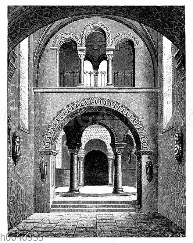 Inneres der St. Michaeliskirche zu Fulda
