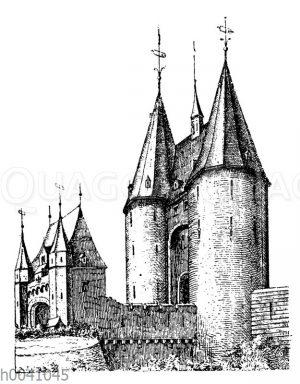 Das ehemalige Kölner Tor zu Aachen