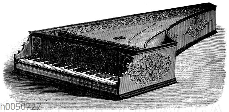 Spinett des Herzogs Alfons II. von Ferrarra