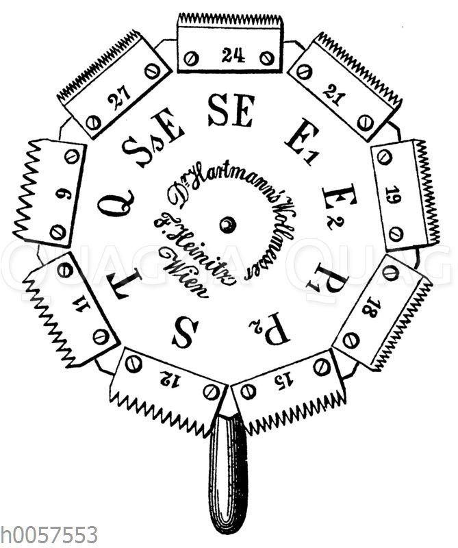 Hartmannscher Wollmesser