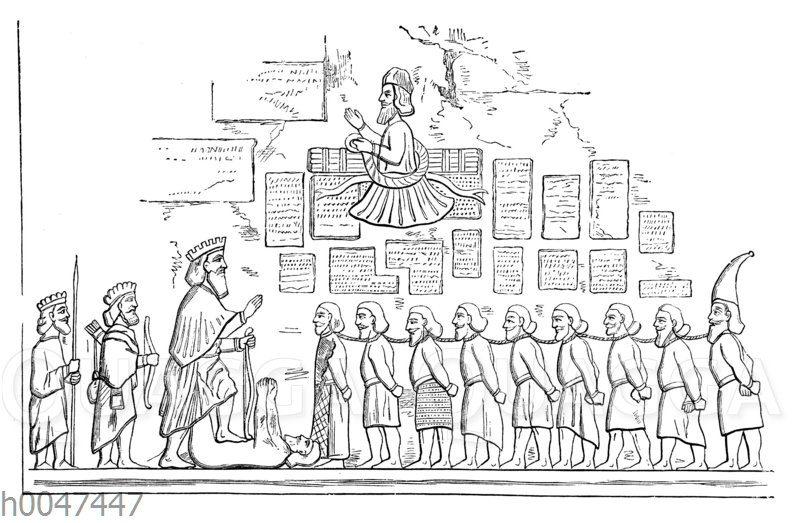 Dariusdenkmal von Bagistana