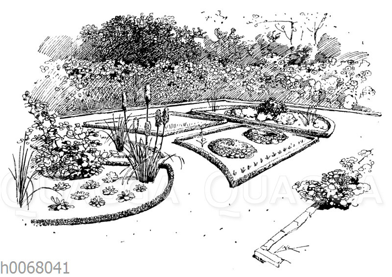 Garten ohne Rasen