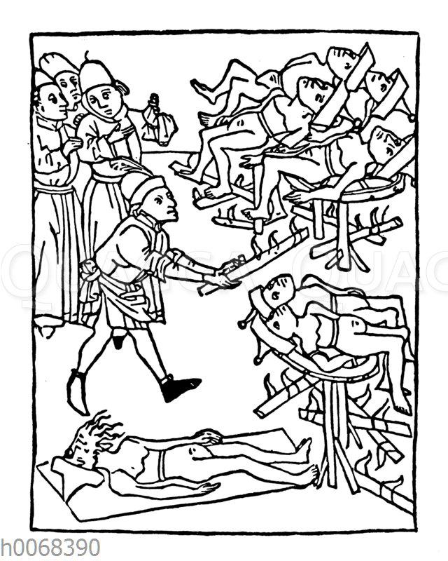 Folter von Juden