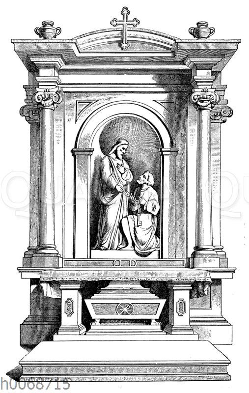 Altar aus St. Pudenziana