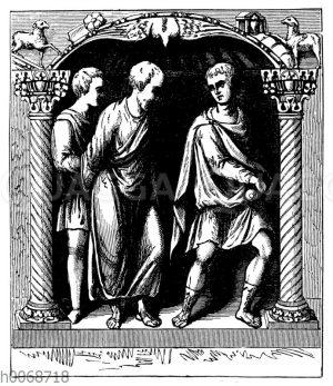 St. Petrus wird zum Tode geführt