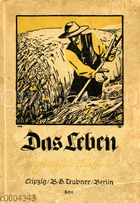 "Cover des Biologiebuches ""Das Leben"""