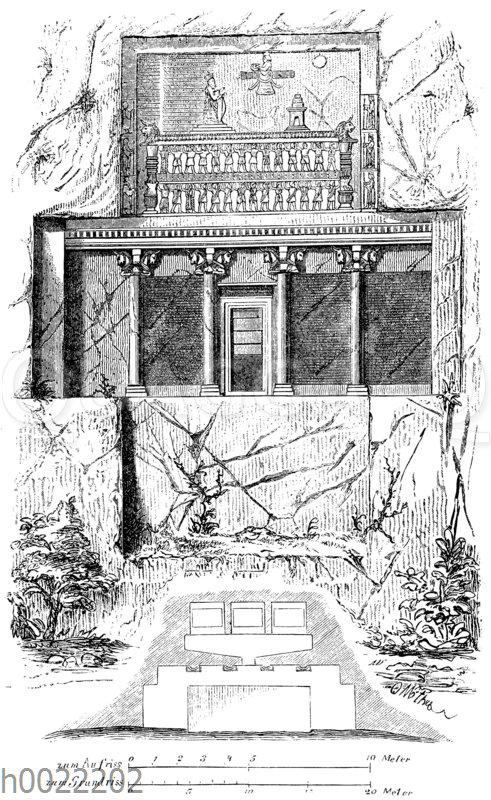Grab des Darius zu Nakschi-Rustan (Naqsh-e Rustam)