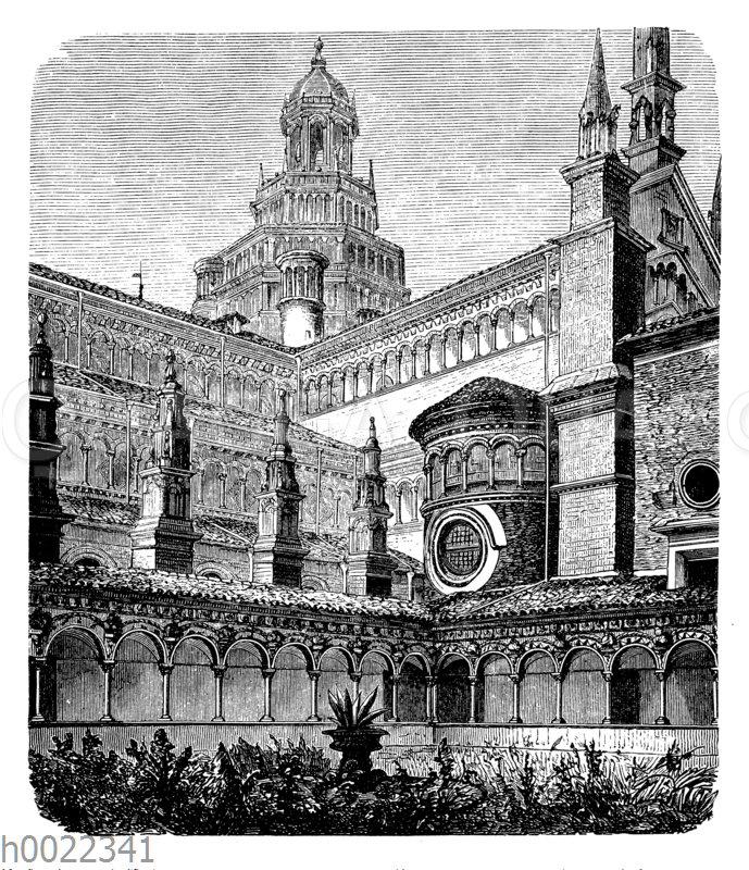 Certosa bei Pavia: Innenansicht