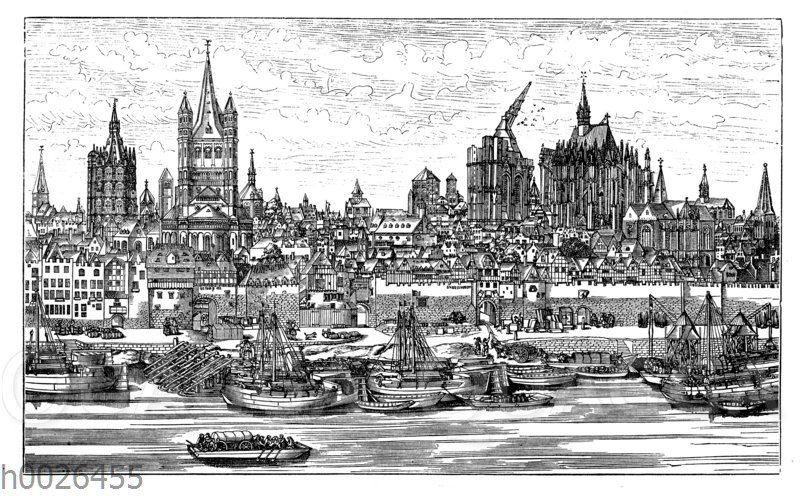 Köln im Jahre 1531