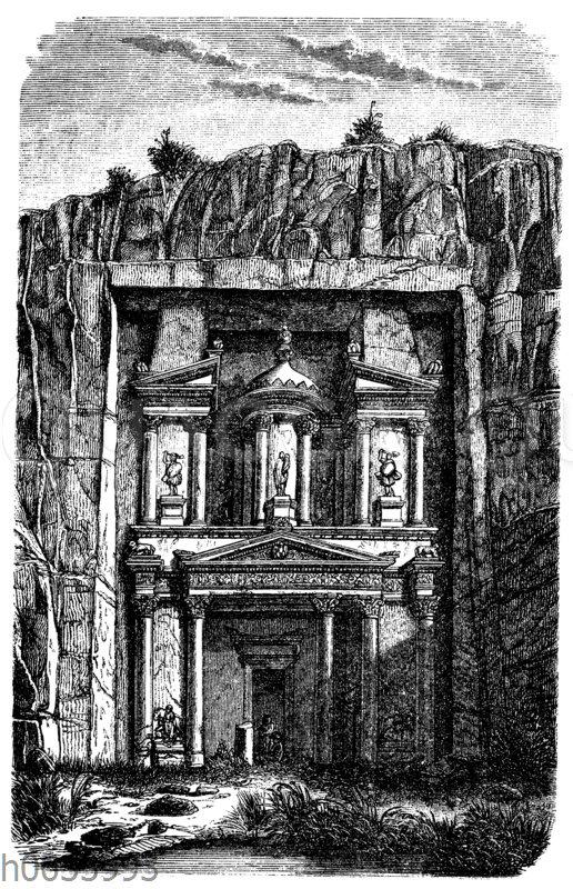 Felsengrab in Petra