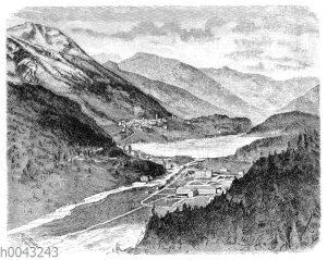 St. Moritz im Engadin