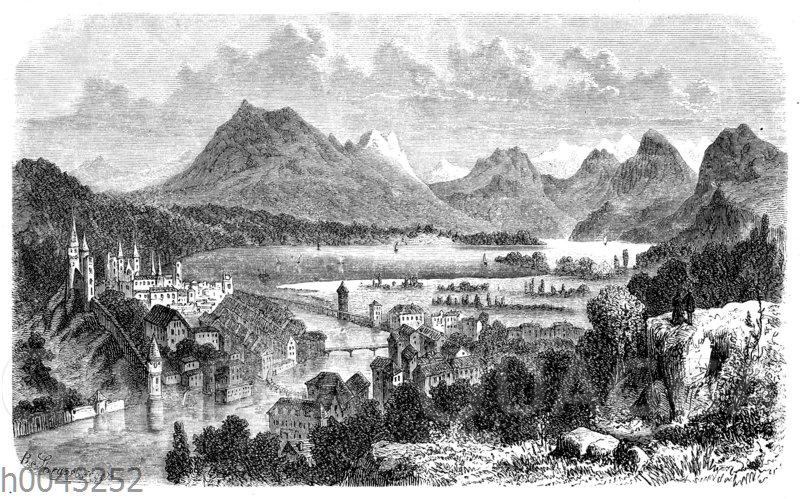 Vierwaldstätter See mit Pilatus