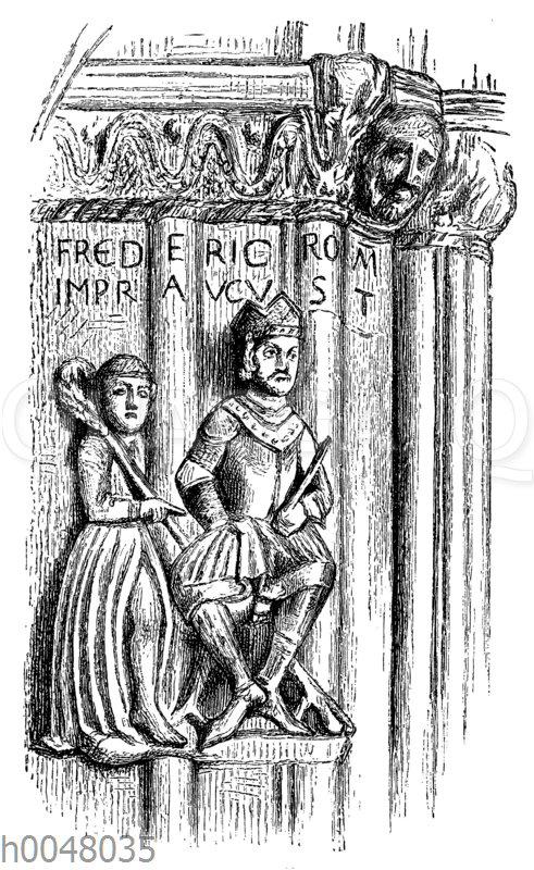 Fredericus Romanorum Imperator Augustus': Friedrich Barbarossa und Bischof Albert von Freising