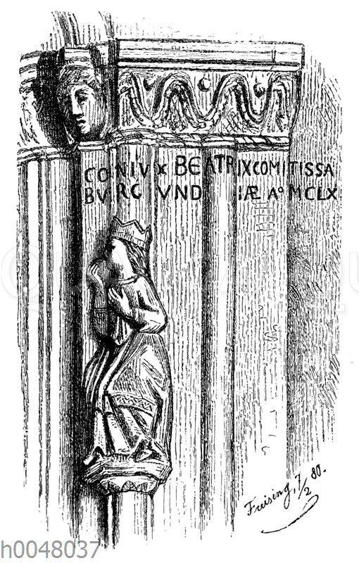 Friedrich Barbarossas Gemahlin Beatrix