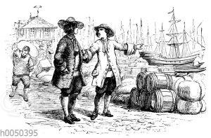 Robinson Crusoe und sein Schulkamerad
