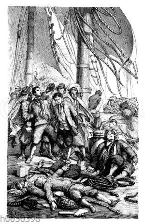 Robinson Crusoe wird ein Sklave