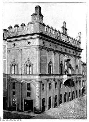 Palazzo Bevilaqua in Bologna