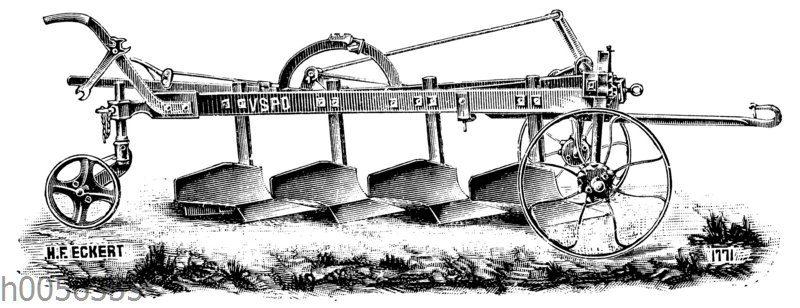 Vierschariger Pflug von H.F. Eckert