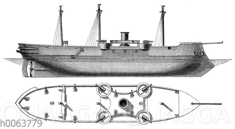 Kasemattschiff Ocean