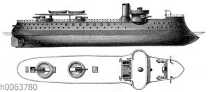 Barbetteturmschiff Amiral-Duperre