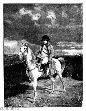 Napoleon Bonaparte zu Pferd