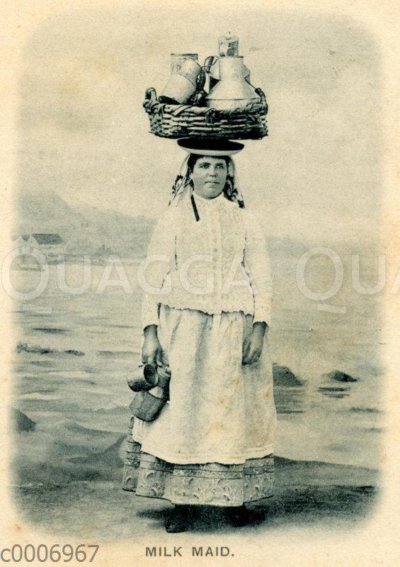 Milchhändlerin aus Teneriffa