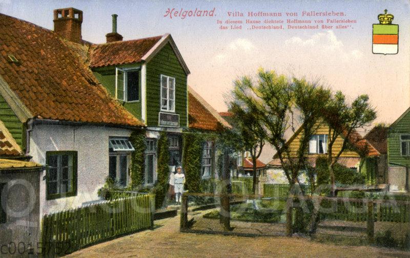 Helgoland: Villa Hoffmann von Fallersleben