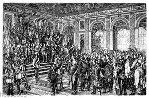 Die Kaiserproklamation in Versailles