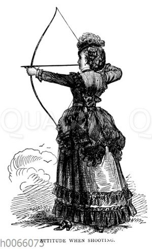 Körperhaltung beim Bogenschießen