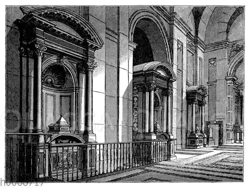 Kirche des Klosters Tre Fontane