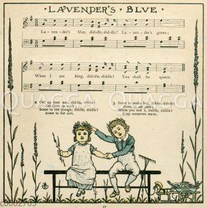 Lavender's Blue. Liedtext