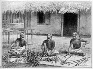 Ceylon-Zimt: Herstellung